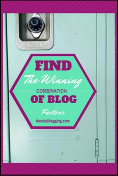The article offers a guide to how bloggers can find the right combination of successful blog factors. #Pinterest Click to see how. MostlyBlogging.com