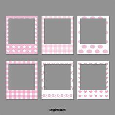 Pink Polaroid Photo Paper Collection Vector and PNG Marco Polaroid, Polaroid Frame Png, Polaroid Picture Frame, Polaroid Template, Polaroid Pictures, Ideas Scrapbook, Polaroid Decoration, Photo Clipart, Image Svg
