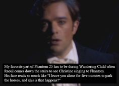 Phantom of the Opera Confessions