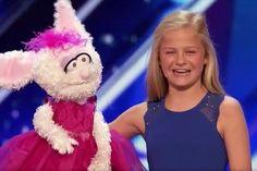 全米が絶賛!! 腹話術にも関わらず凄まじい歌唱力…天才少女の圧巻のパフォーマンスは必見!