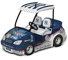 New York Yankees Golf Cart