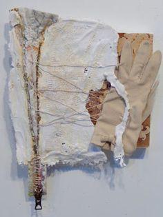 A Mixed Media Journal:  Clare Murray Adams: Remnants no. 003