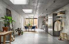 Live like you're in a concept store in this concrete Stockholm apartment