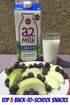 Is your child lactose intolerant? Check out these Top 5 Easy Back To School Snacks that are lactose free for children.