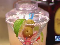 My favorite margarita on the planet, straight from the manager. Happy Hour How-to: Chuy's Texas Martini Margarita