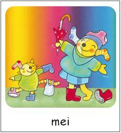 Mei | Pompom maanden Pictogram, Tweety, Pikachu, Seasons, School, Prints, Fictional Characters, Pom Poms, Seasons Of The Year