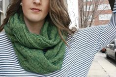 DIY Infinity Scarf from an old sweater!