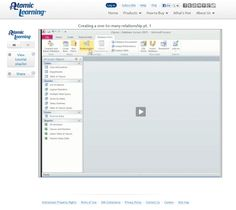 Tech Learning : Video Tutorial: Access 2010 Advanced - Creating One to Many Relationships