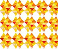 yellow Prism fabric by valeriakondor on Spoonflower - custom fabric