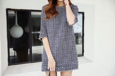 Mini Tweed Dress