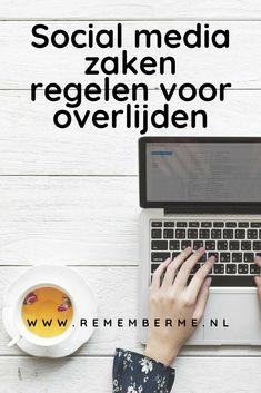 Social media zaken regelen voor overlijden... Misschien heb je zelf al eens nagedacht over wat er met jouw social media profielen en gegevens moet gebeuren als je komt te overlijden. Of denk je juist: waarom zou ik dat nu al doen? Wij vertellen je in dit artikel wat de voordelen hiervan zijn en wat je per social medium nu al zelf kunt regelen. Lees het op www.rememberme.nl #artikel #socialmedia #overlijden #rouw #uitvaartwensen #verlies #sterven Etiquette, Funeral, Tips, Hacks
