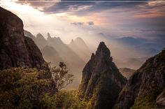 Stunning view of Parque da Serra dos Órgãos (1hr north of #Rio) by Carlos Perez Couto. Wiki Loves Earth. #Brazil