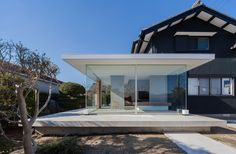 KY House is a minimalist house located in Aichi, Japan, designed by workcube.