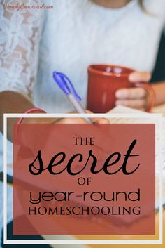 The Secret Of Year Round Homeschooling Year Round Homeschooling Calendar Aka Sabbath Homeschooling Aka Sanity Saving Homeschool Schedule The New School, New School Year, High School, Public School, School Daze, Tot School, Summer School, School Fun, Teaching From Rest