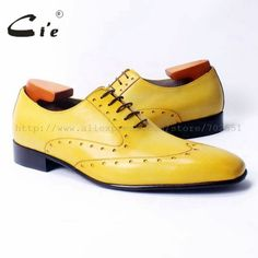 9bf945bcb9c10 US $168.0 |cie square toe laceup mixed colors oxfords brilliant yellow pure  genuine calf leather men's casual shoe breathable handmadeOX311-in Oxfords  from ...