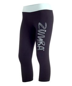 Take a look at this Black Galaxy Leggings by Zumba® on #zulily today!