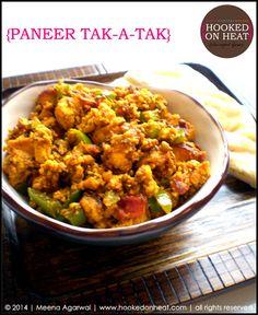 Paneer Tak-a-Tak: spiced up crumbled paneer