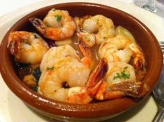 Gambas al Ajillo (Shrimp in Garlic Sauce) - Hispanic Kitchen#.Uo1S4XuCkok.facebook#.Uo1S4XuCkok.facebook