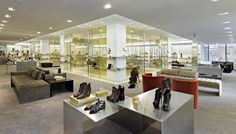 The Shoe Floor at Barneys Madison Avenue