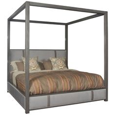 Create a bedroom space that is ideal for you and your life with the addition of this secluded centerpiece Marshall king bed. The blend of Venice Cornflower and Langdon finishes on the body give this b