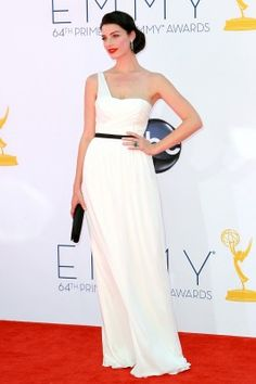 Jessica Pare at the 2012 Emmy's
