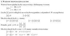 Tablice matematyczne Math Equations