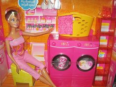 Barbie Spin to Clean Laundry Room Playset by Mattel