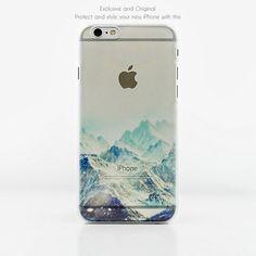 Unique Snow Mountain iPhone 6/6 plus case Galaxy S6 case by MuMuLi on Etsy https://www.etsy.com/listing/225755988/unique-snow-mountain-iphone-66-plus-case