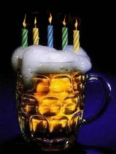 A HAPPY BIRTHDAY BEER
