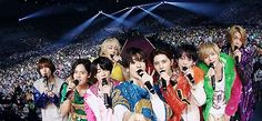 Hey! Say! JUMP at Tokyo Dome Jumping Gif, Yuri Chinen, Yuto Nakajima, Ryosuke Yamada, Music Power, Tokyo Dome, Japanese Boy, Asian Celebrities, Boy Bands