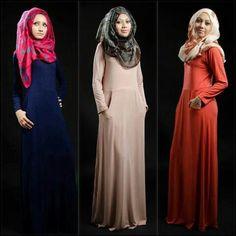 فساتين سبور للمحجبات ❤ hijab style