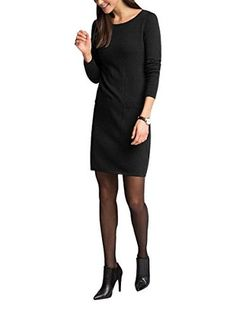 ESPRIT Collection Kleid (schwarz)