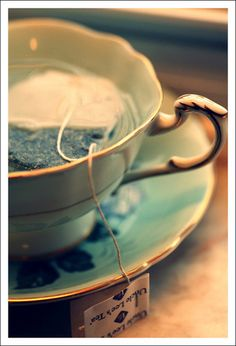 """""""Drinking a daily cup of tea will surely starve the apothecary."""" — Chinese Proverb"""