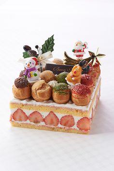 グランド ハイアット 東京、気分を楽しくする華やかなクリスマスケーキ発売の写真2