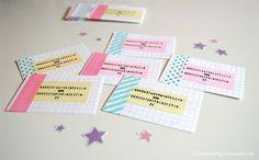 Cartões de Visita Artesanais