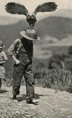 lacalaveracatrina:  A Boy and his owl, National Geographic, 1933. gerda-kay:  #poler #polersuff #campvibes