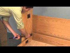 Create-A-Bed® Deluxe Murphy Bed Mechanism with TUBE LEGS - YouTube