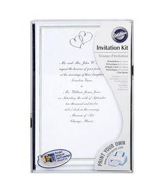 invite pc kit v ivy 25 | invitation kits, pocket invitation and, Wedding invitations