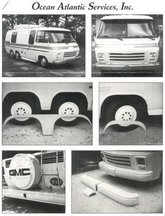 Oasi Fiberglass Gmc Parts Gmc Gmc Motorhome Vintage Motorhome
