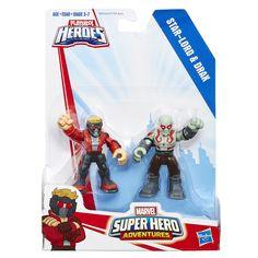 Playskool Heroes Marvel Super Hero Adventures Starlord and Dax || $6.99 @ Toys R Us (B)