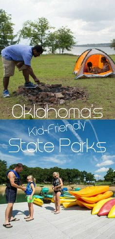 Across the state, Oklahoma's beautiful parks go above and beyond to be true family destinations for camping, water sports and attractions that cater to the kids.
