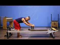 Reverse Elephant Obliques on Reformer - YouTube