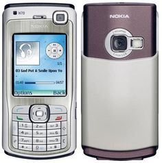 """Nokia N70 - My first """"smartphone"""". It had """"full internet"""" on it. Great specs, Symbian OS made it very slow. Snake 3D - Immense"""