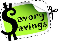 Savory Savings - Companies to Contact for Coupons.  Over 100 companies that you can email for coupons, samples and more!