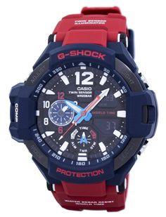524512e36da Branded Watches Casio G-Shock GRAVITYMASTER Shock Resistant World Time GA -1100-2A