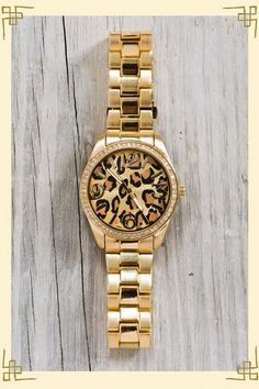 Leopard, leopard, leopard! I have this watch in bronze and it was from Target of all places! Only $15!