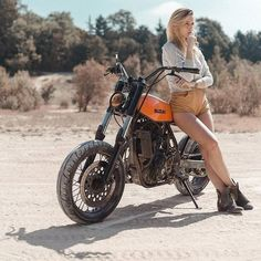 Suzuki DR 650 | #bikes-n-girls | #motorcyclesgirls | www.pinterest.com/housemanc/