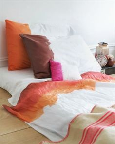 Sweet Paul on dip-dye sheets and pillowcases. Such an easy project!