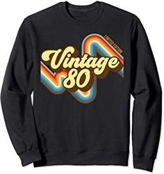 39th Birthday Vintage 80 limited edition born in 1980 funny Sweatshirt