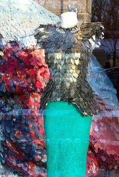 Reptile Window on RISD Portfolios